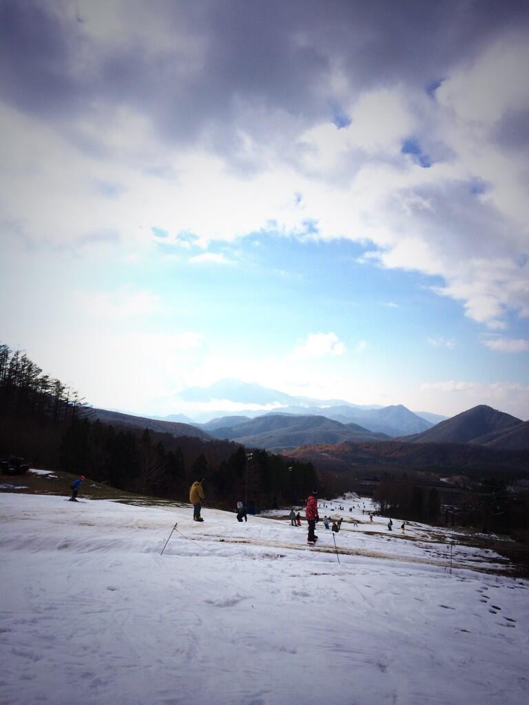 箕輪スキー場がオープン